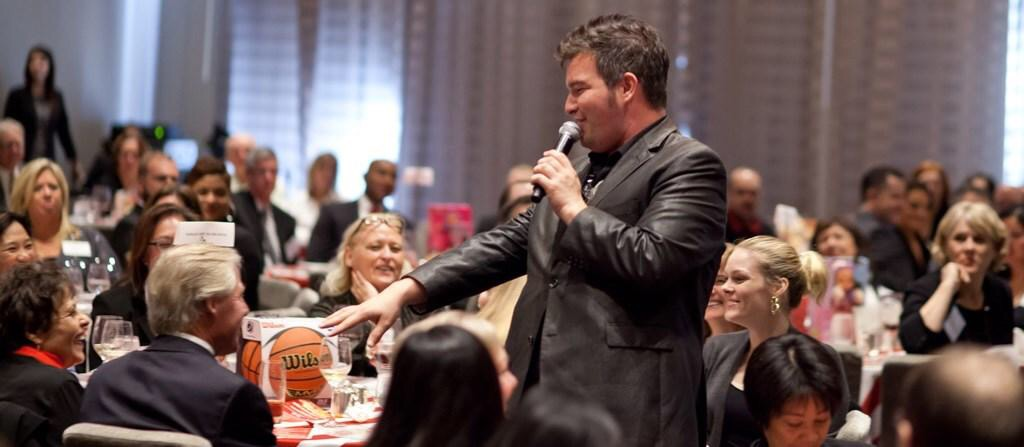 Jason Sings at Event