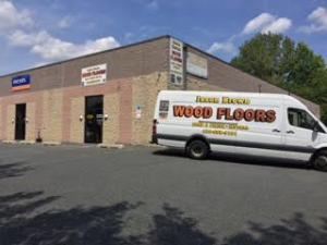 Jason Brown Wood Floors Truck