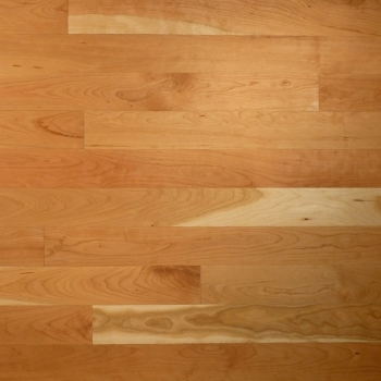 American cherry wood floor