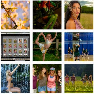 Instagram grid of images 7MAY21
