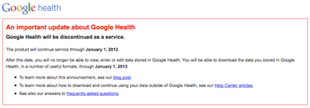 Googlehealth