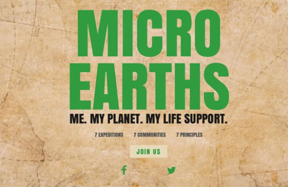 Micro Earths - 7 expeditions to 7 communities to explore 7 principles for a sustainable future