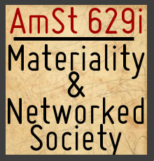 Materiality and Networked Society link