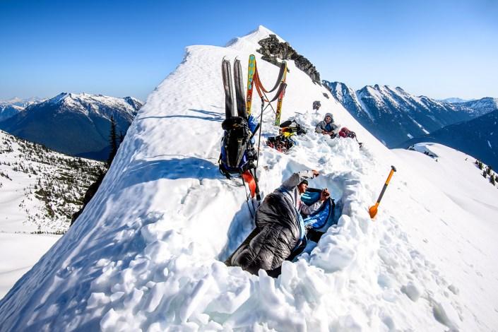 Washington Glacier ski project