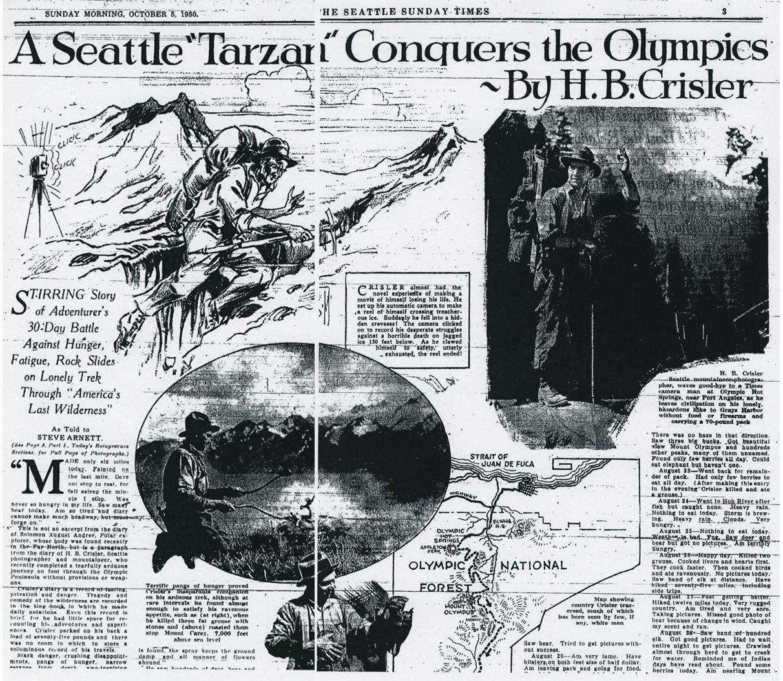 The Olympic Traverse (West) – Jason Hummel Photography