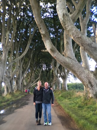 The Dark Hedges.