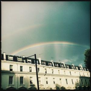 Double Rainbow in Maida Vale