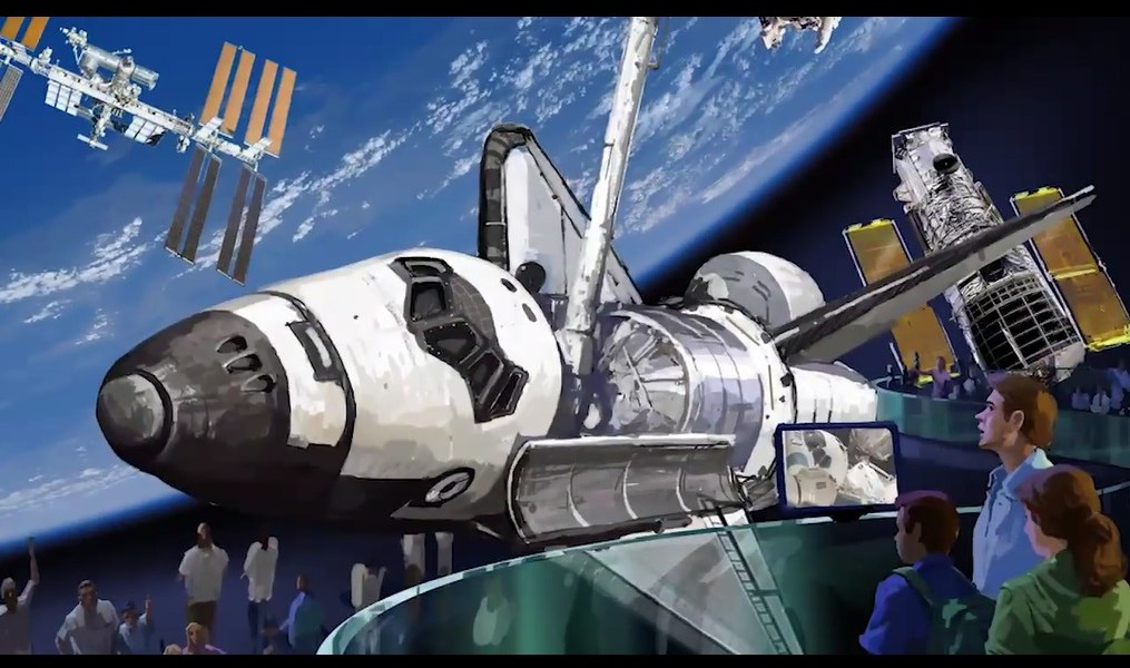 KSC is the new home of Atlantis