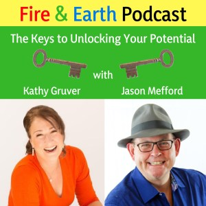 Fire and Earth Podcast Logo