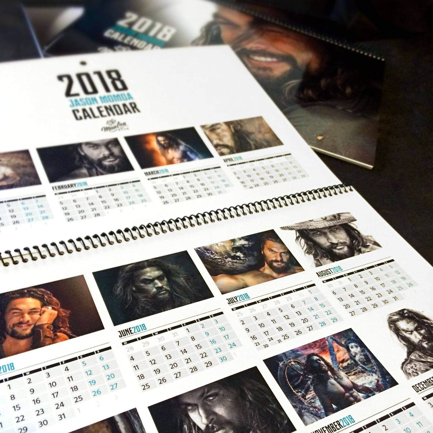 Jason Momoa Interview: Exclusive Jason Momoa Calendar Giveaway With MauLoa Designs