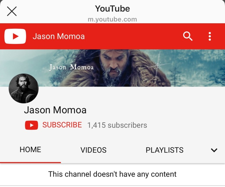 jason momoa youtube