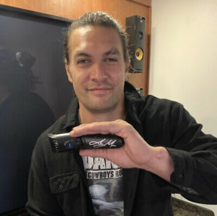 Bid On Jason Momoa's Beard Shaver On EBay For Charity