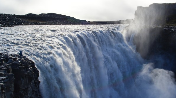 Detifoss Waterfall