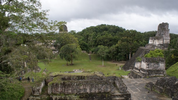 The Main Square of Tikal