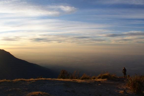 Santa Maria Volcano Sunrise