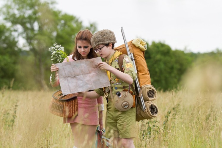 Kara Hayward and Jared Gilman in Moonrise Kingdom (2012)