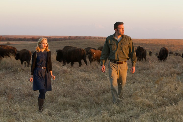 To The Wonder (2013), directed by Terrence Malick  and starring Ben Affleck and Rachel McAdams.