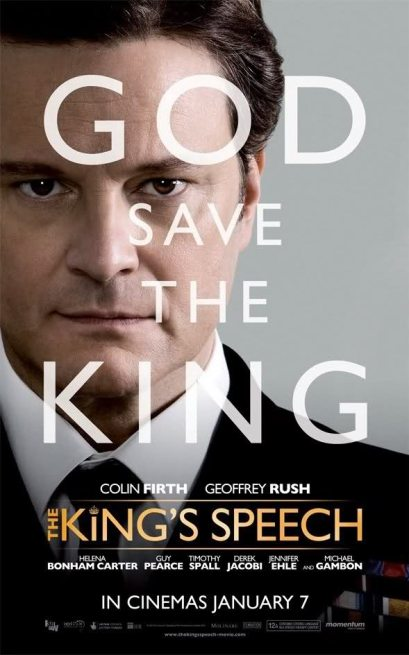 The King's Speech (2010), directed by Tom Hooper
