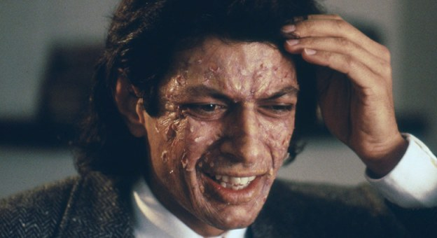JEFF GOLDBLUM IN THE FLY (1986)