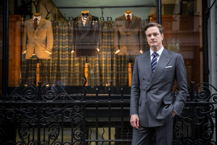 Colin Firth in Kingsman: The Secret Service (2015), directed by Matthew Vaughn.