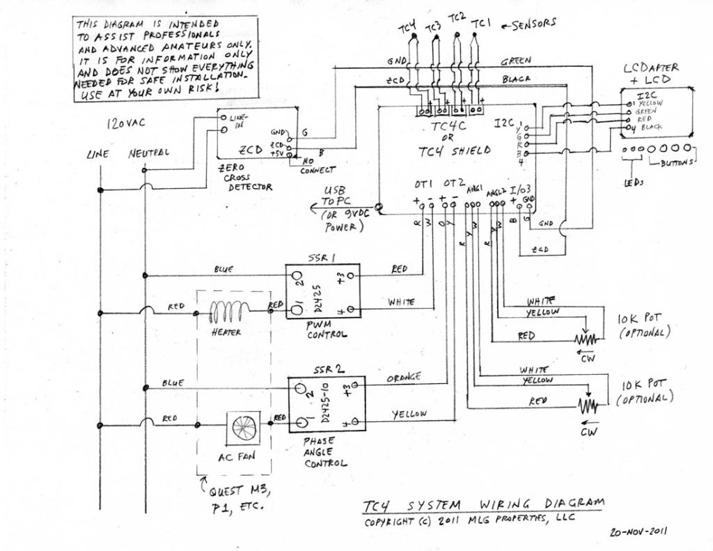 zcd circuit wiring diagram