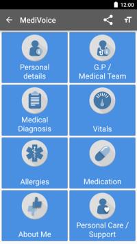 Medivoice Android app