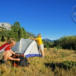 Pitch your tent in Jasper's great outdoors.