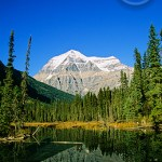 The scenery at Mt. Robson Park is the number one attraction.