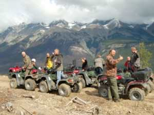 See the Canadian Rockies on an ATV