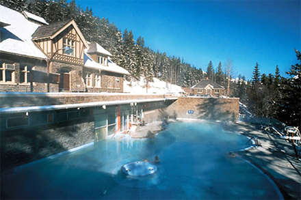 Banff Upper Hot Springs, Banff National Park, Canadian Rockies