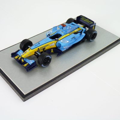 2004 Fernando Alonso Renault R24 - F1 Car Collection Conversion
