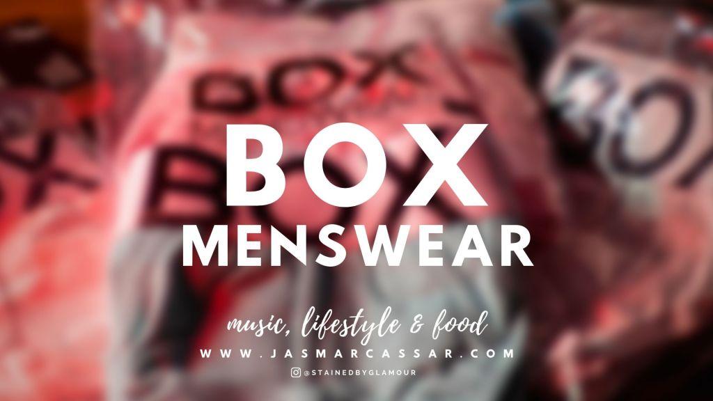 BOX MENSWEAR COVER