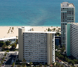 Atlantic Towers Co-op is in harbor beach on the south end of the Fort Lauderdale Beach