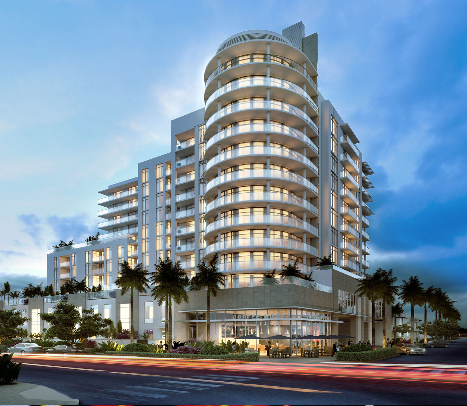 The Gale Residences on Fort Lauderdale Beach under construction