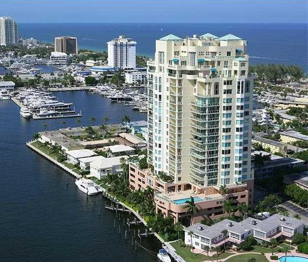 Harbourage Place Condo is a luxury condo on Ft lauderdales south beach located on the intracoastal waterway