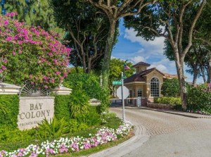 Bay Colony Gated Community in Fort Lauderdale
