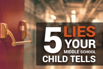 % Lies Your Middle School Child Tells