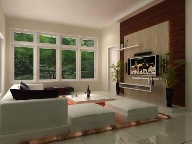 desain ruang tamu minimalis modern 15
