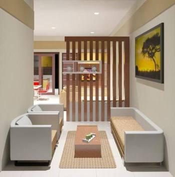 desain ruang tamu minimalis modern 8