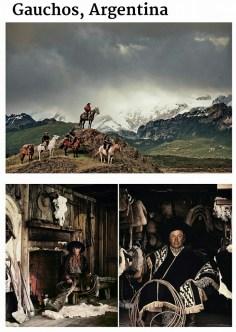 suku terasing gauchos, argentina