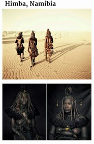 suku terasing himba, namibia