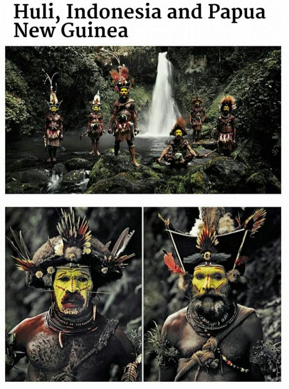 suku terasing huli, indonesia