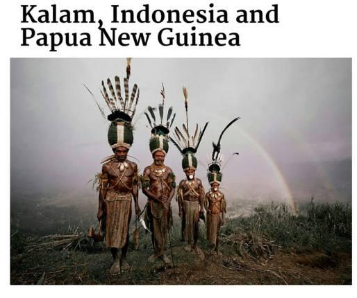 suku terasing kalam, indonesia