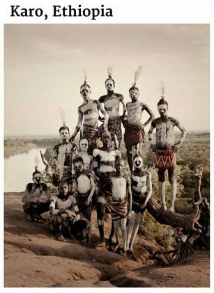 suku terasing karo, etiopia
