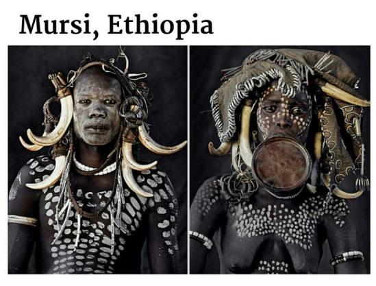 suku terasing mursi, etiopia