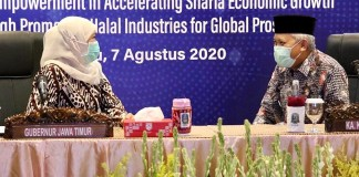 Gubernur Khofifah Hadiri Kick Off 7th ISEF 2020