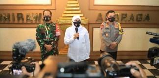 Gubernur Khofifah Ingatkan untuk Cegah Kluster Pilkada