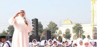 Gubernur Khofifah : Polwan Harus Makin Cakap Dan Cakep