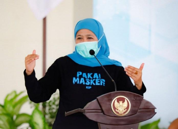 Libur Panjang, Gubernur Khofifah Ingatkan Waspadai Penularan Covid-19 dan Hidrometeorologi
