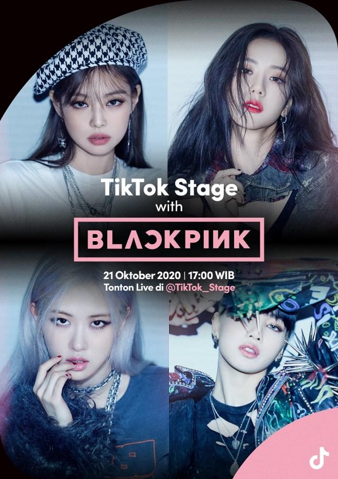 BlackPink Sapa Para Blink Secara Live di TikTok Stage